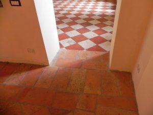Levigatura pavimenti in cotto Rho