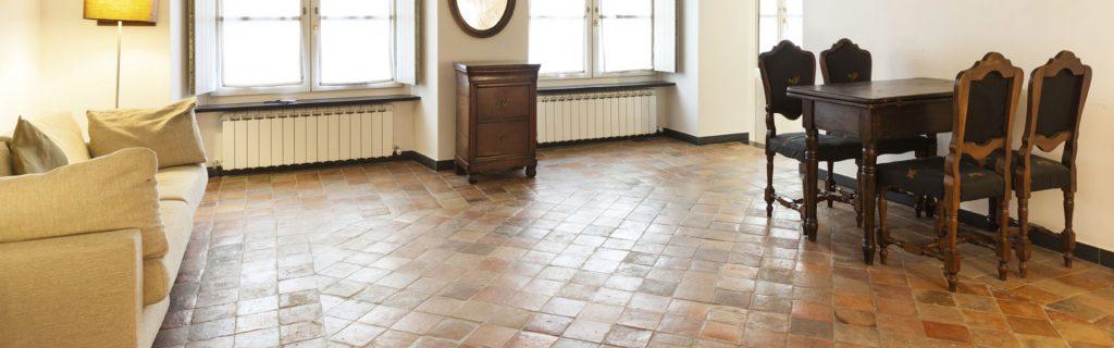 Come trattare il pavimento in cotto