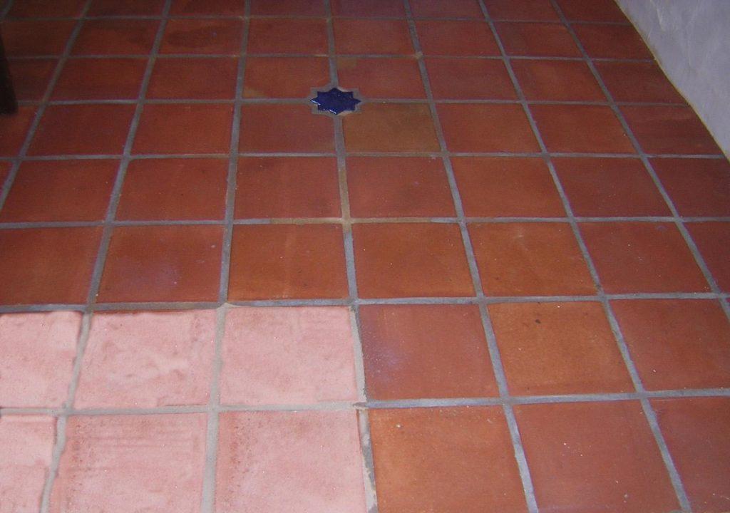 Recupero pavimento cotto antico