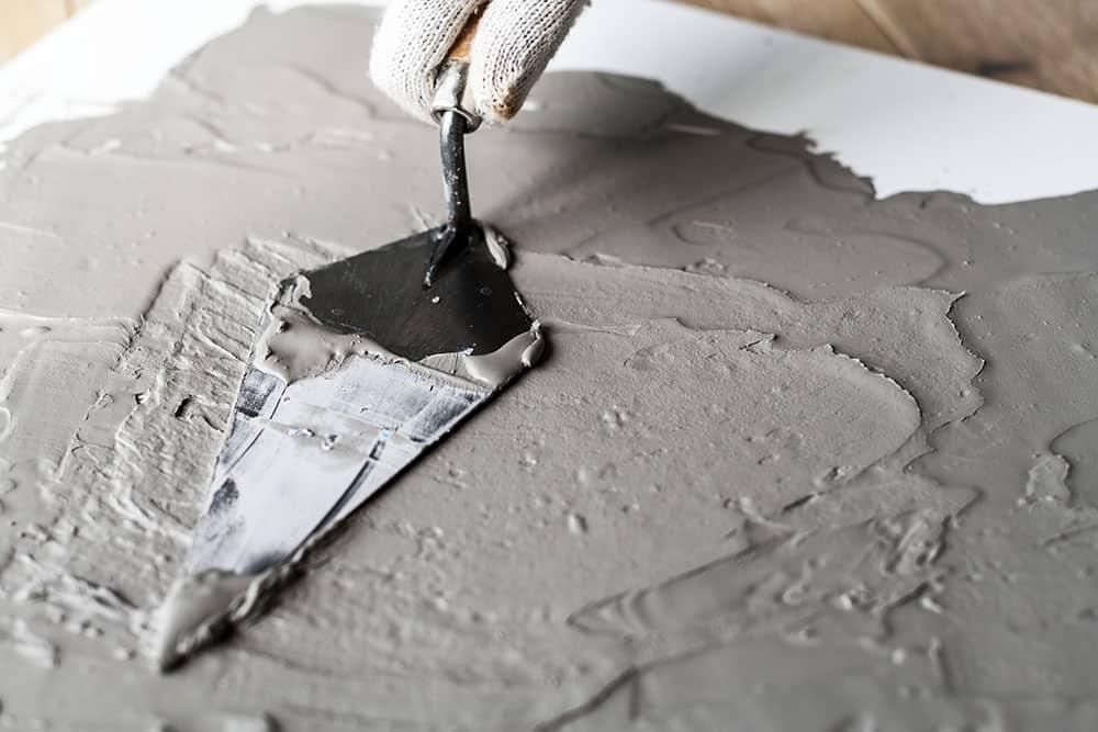 Pavimenti in cemento non sigillati